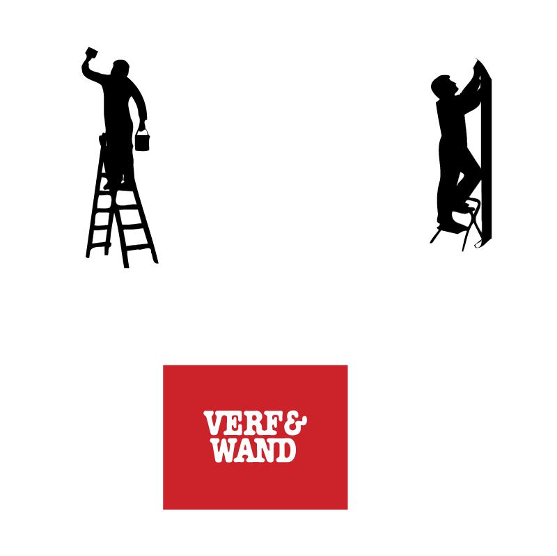 Verf en Wand vector