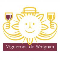 Vignerons de Serignan vector