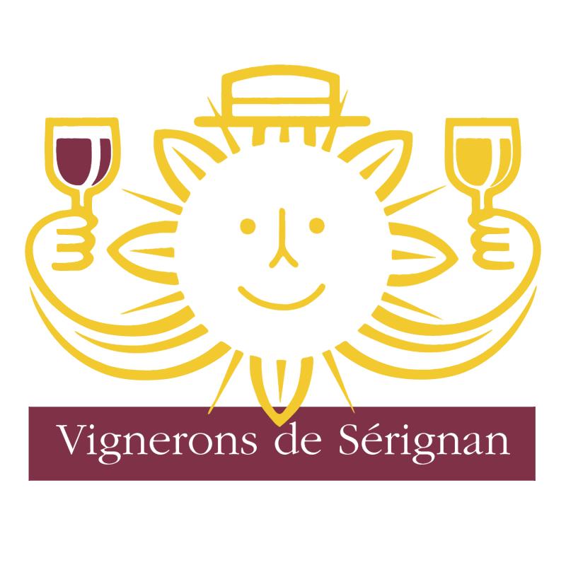 Vignerons de Serignan vector logo