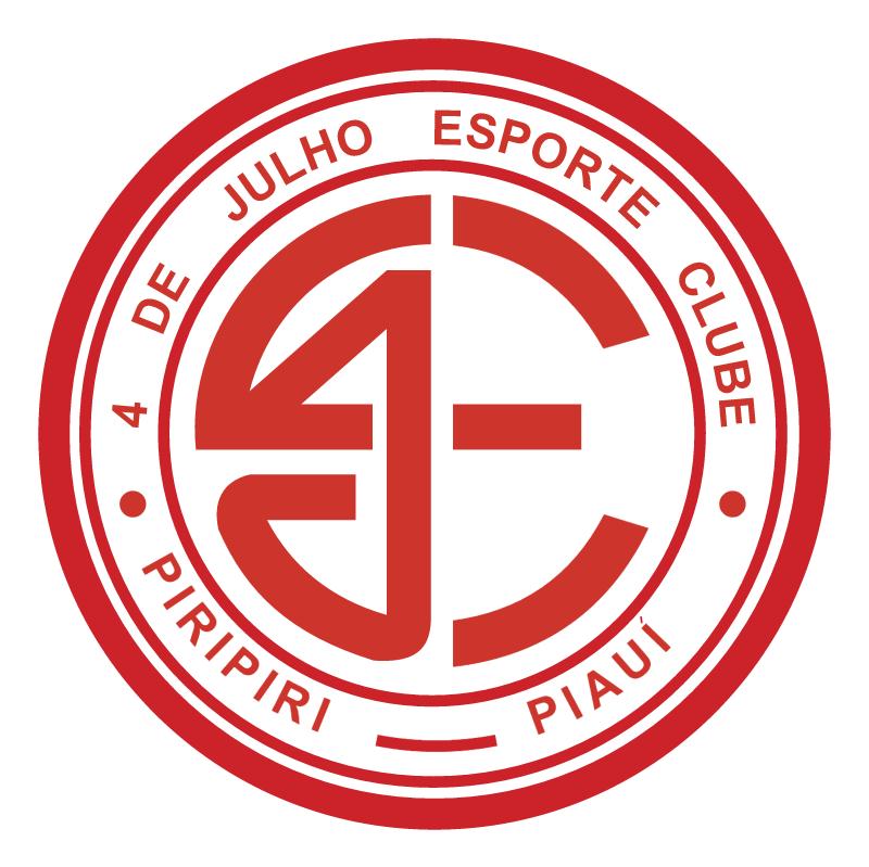4 de Julho Esporte Clube de Piripiri PI vector