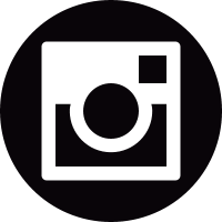 Social instagram circle vector