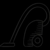 Big Vacuum Cleaner vector