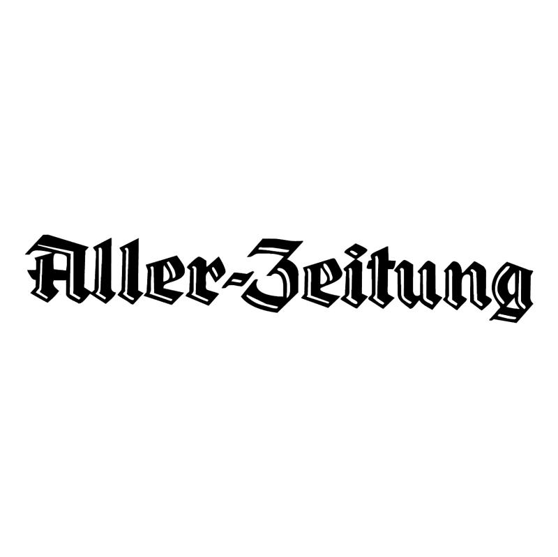 Aller Zeitung 63429 vector