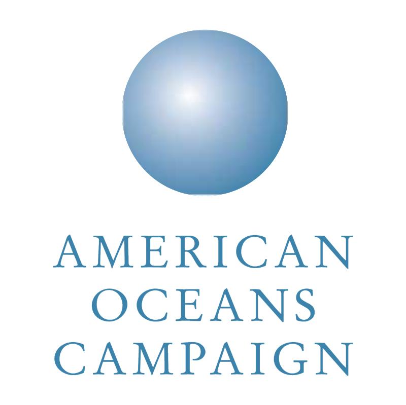 American Oceans Campaign vector