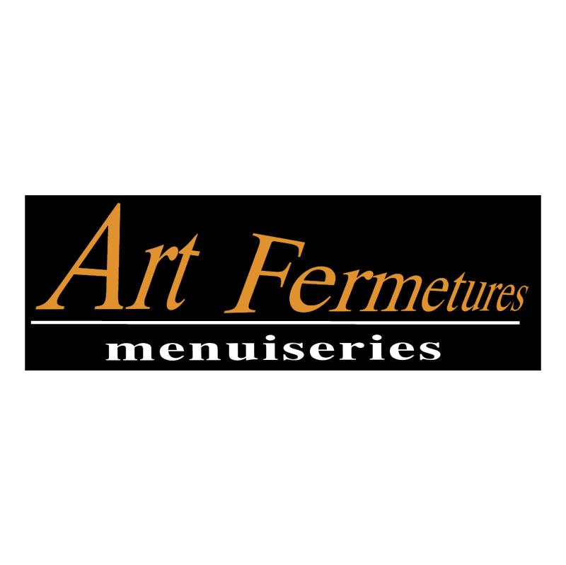 Art Fermetures vector logo