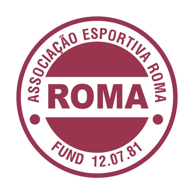 Associacao Esportiva Roma de Porto Alegre RS vector
