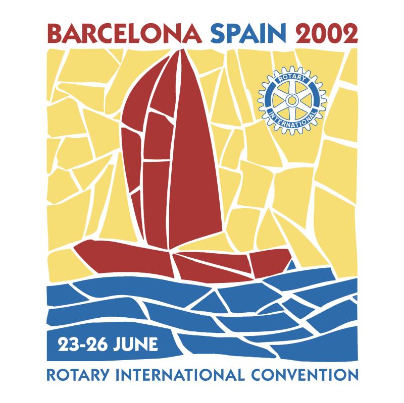 Barcelona Spain 2002 vector