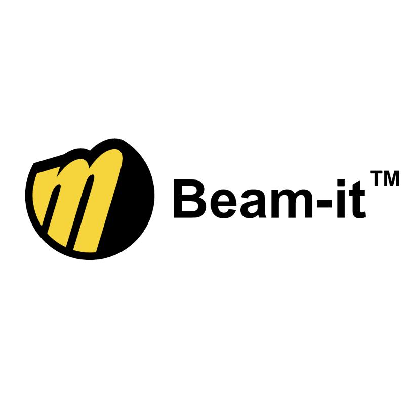 Beam it vector