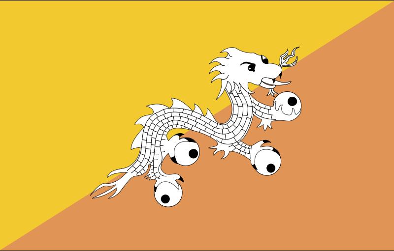 BHUTAN vector