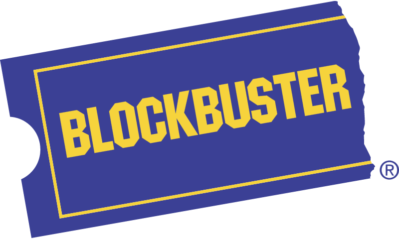 BLOCKBUSTER VIDEO 1 vector