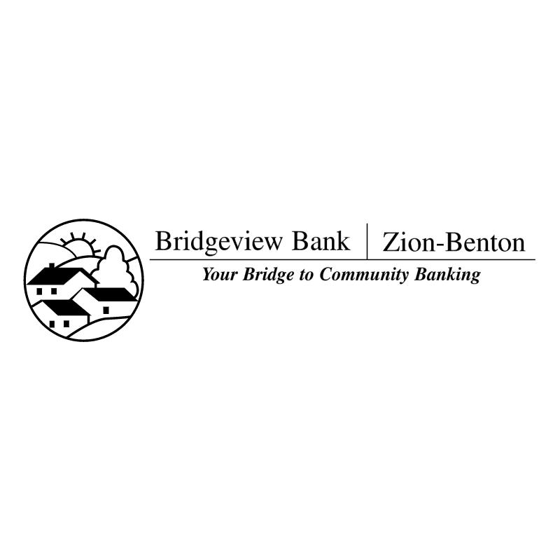 Bridgeview Bank vector logo