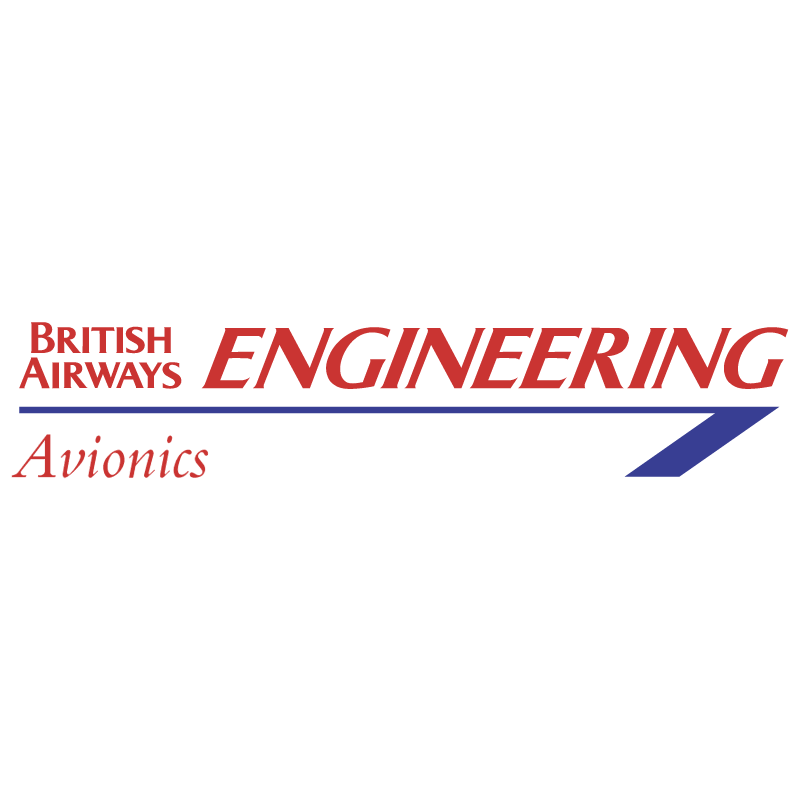 British Airways Engineering 963 vector