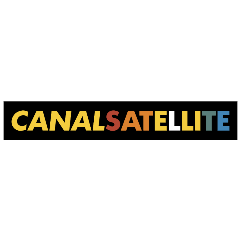 Canal Satellite 1087 vector