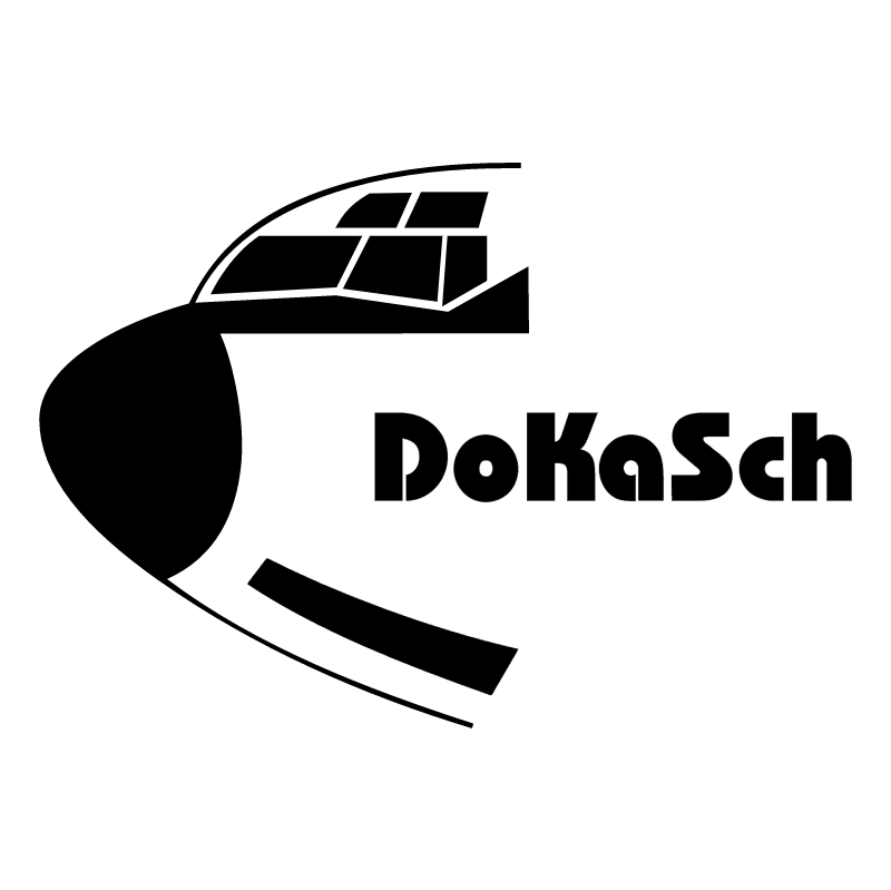 Dokasch Gmbh Aircargo Equipment vector logo