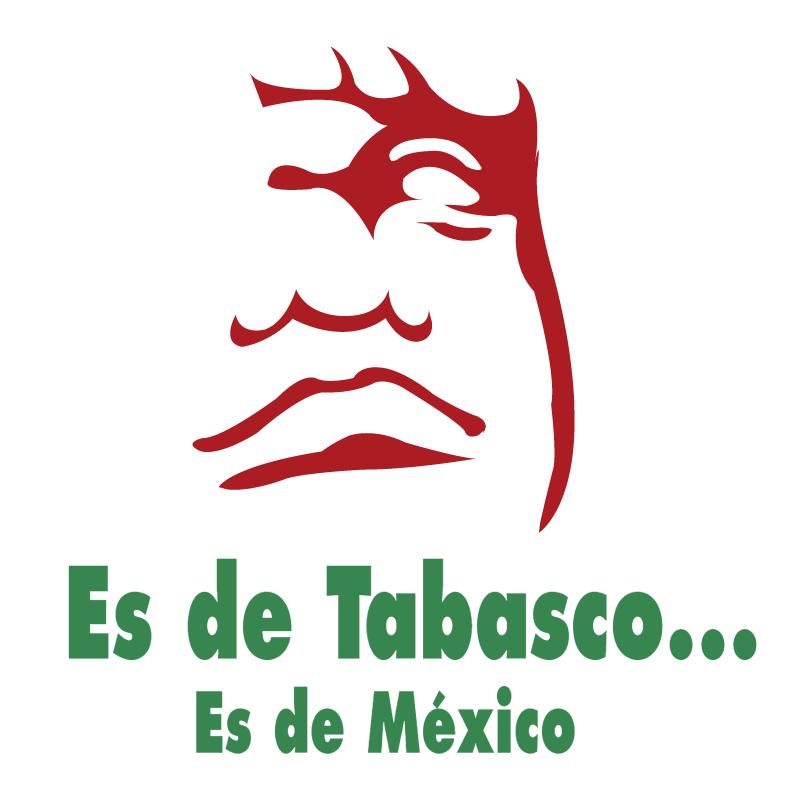 Es de Tabasco vector logo