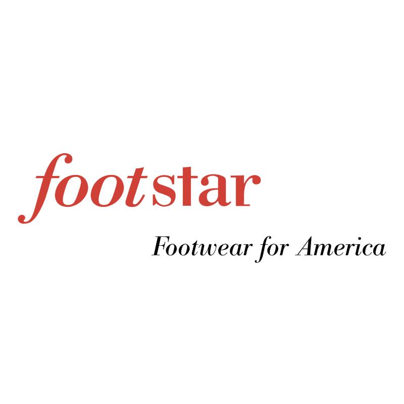 Footstar vector logo
