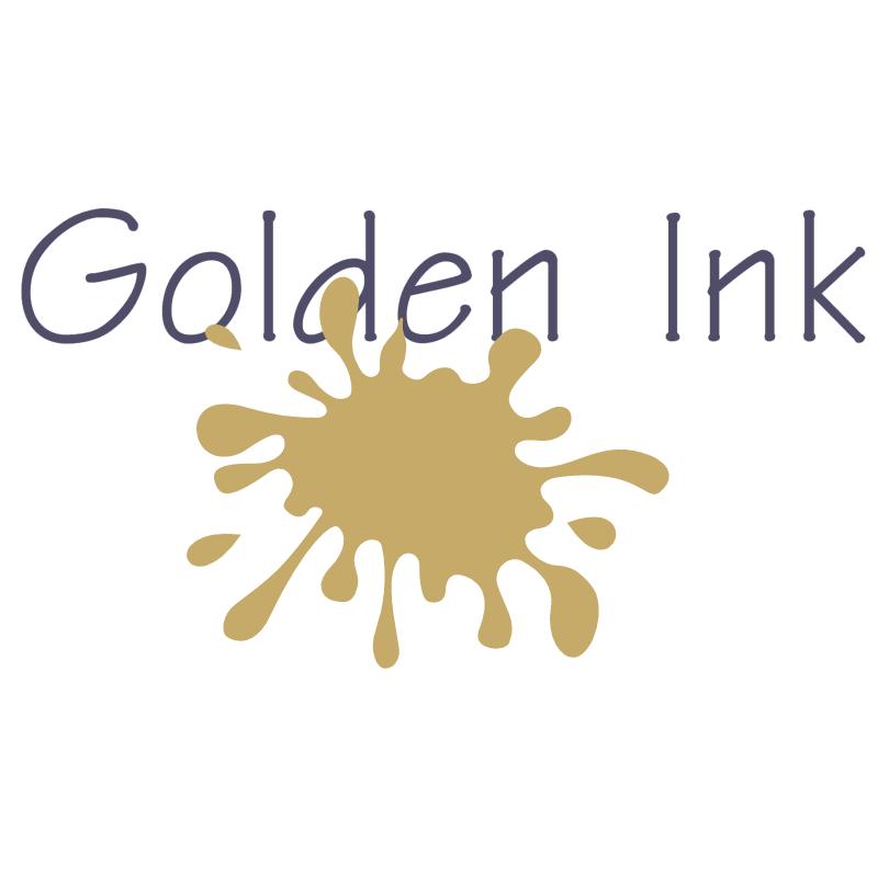 Golden Ink vector