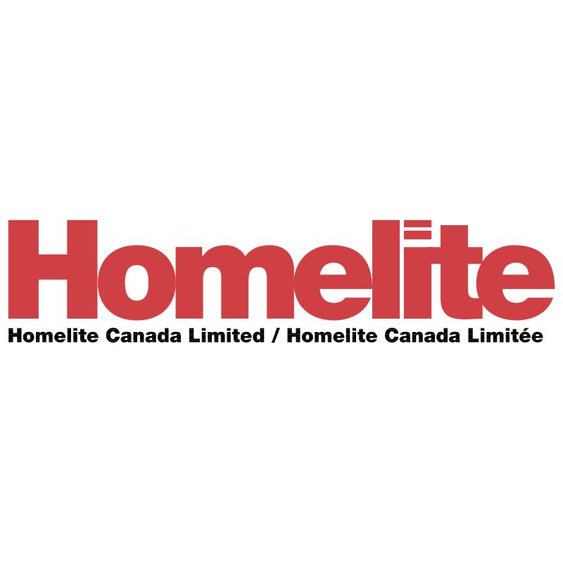 Homelite vector