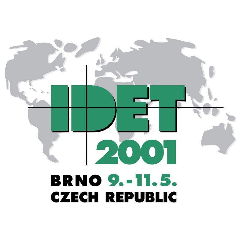 IDET 2001 vector logo