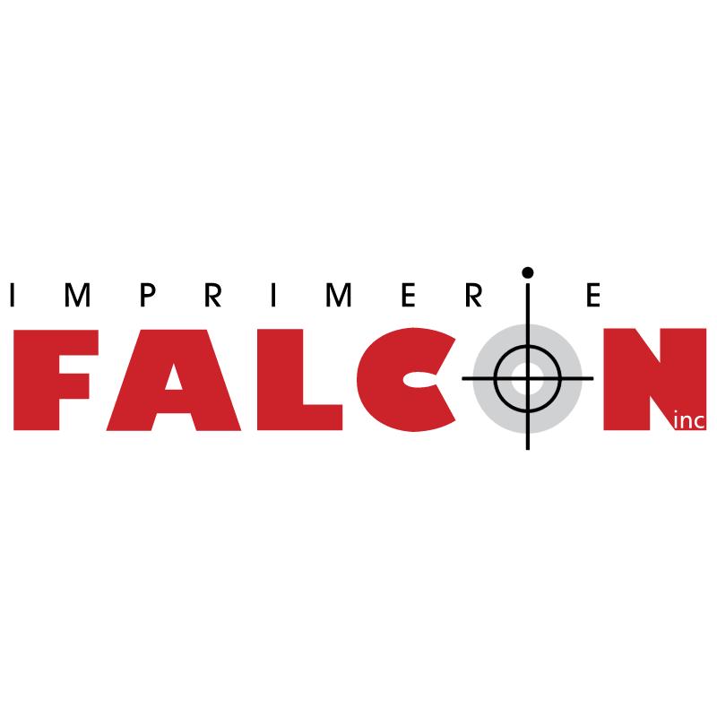 Imprimerie Falcon vector