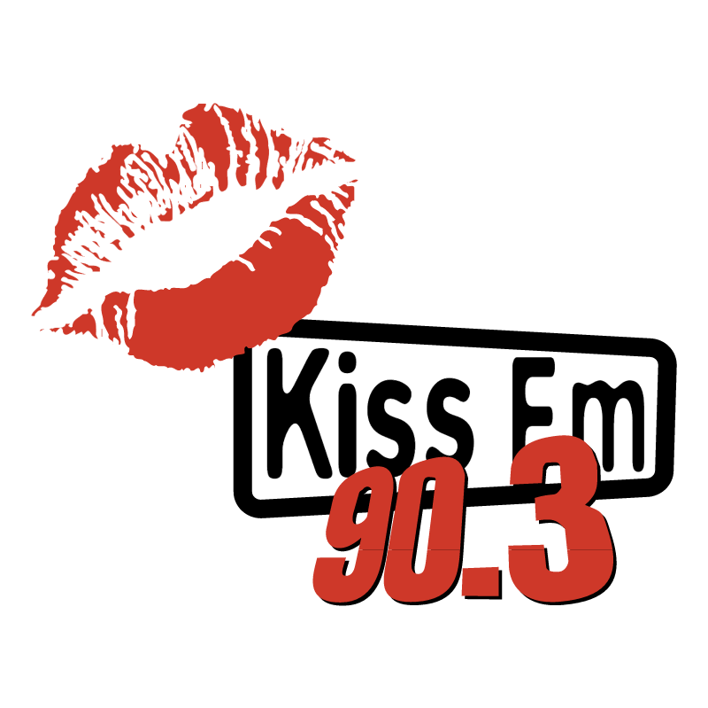 Kiss FM 90 3 vector