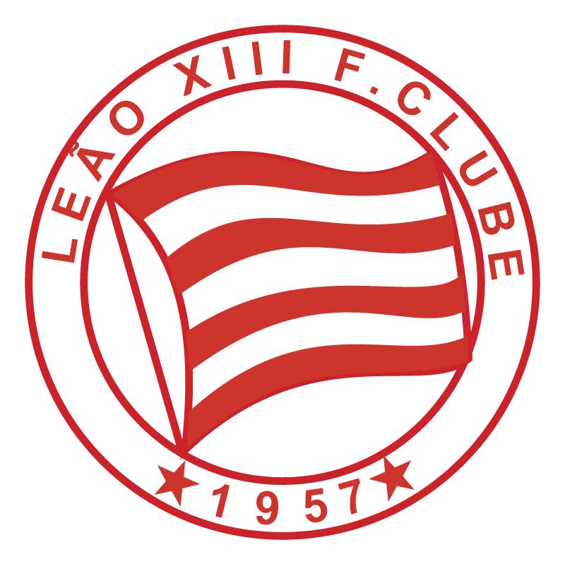 Leao XIII Futebol Clube de Fortaleza CE vector