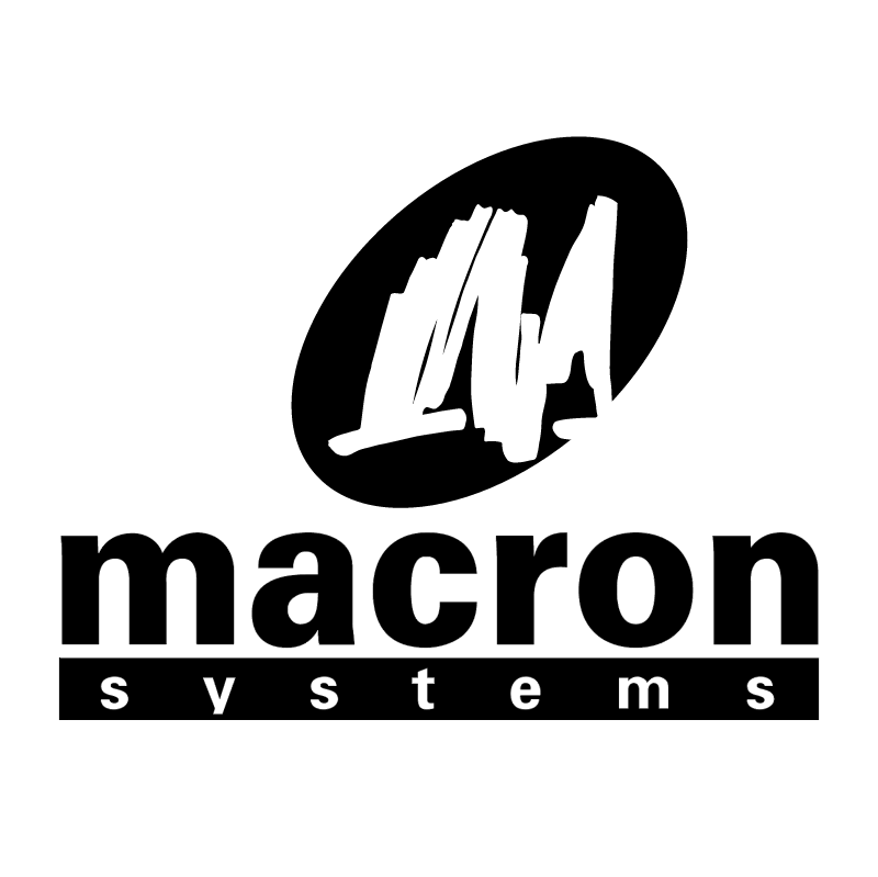 Macron Systems vector