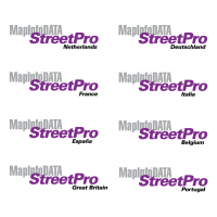 MapInfo Data StreetPro vector