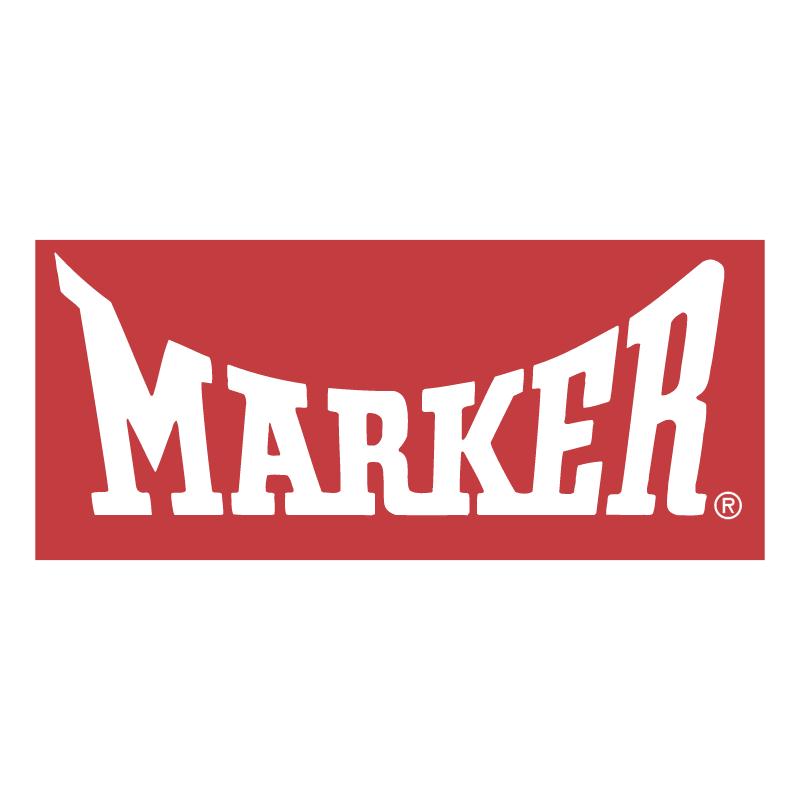 Marker vector logo