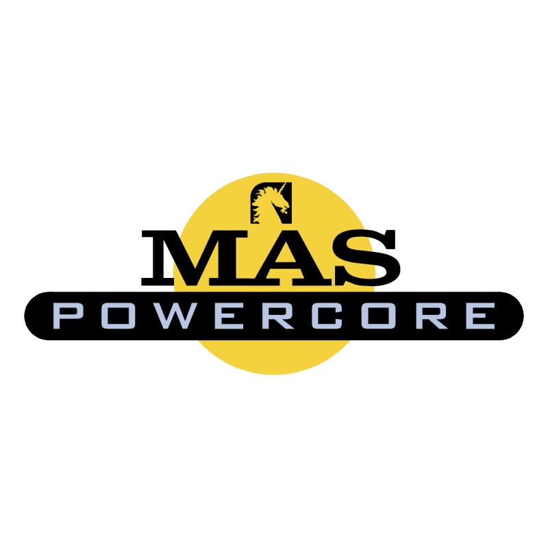 MAS Powercore vector logo