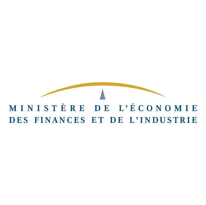 Ministere de l'Economie des Finances vector