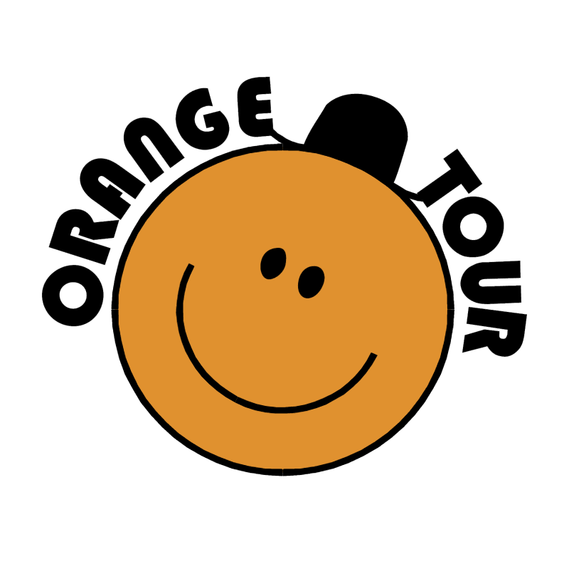 Orange Tour vector