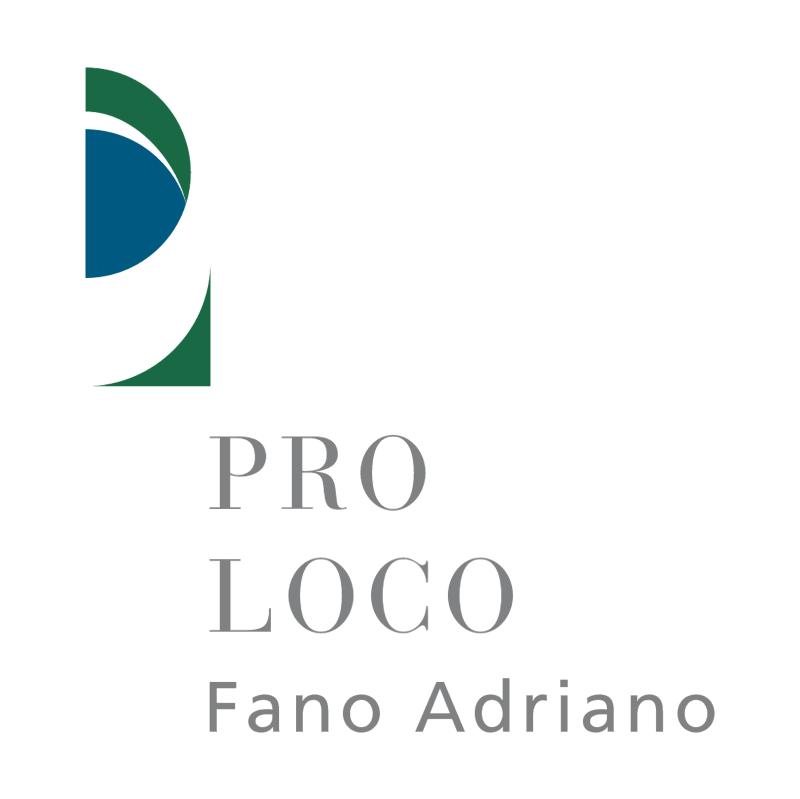 Pro Loco Fano Adriano vector