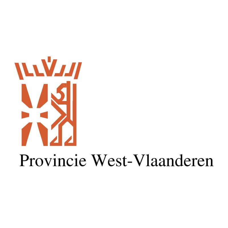 Provincie West Vlaanderen vector