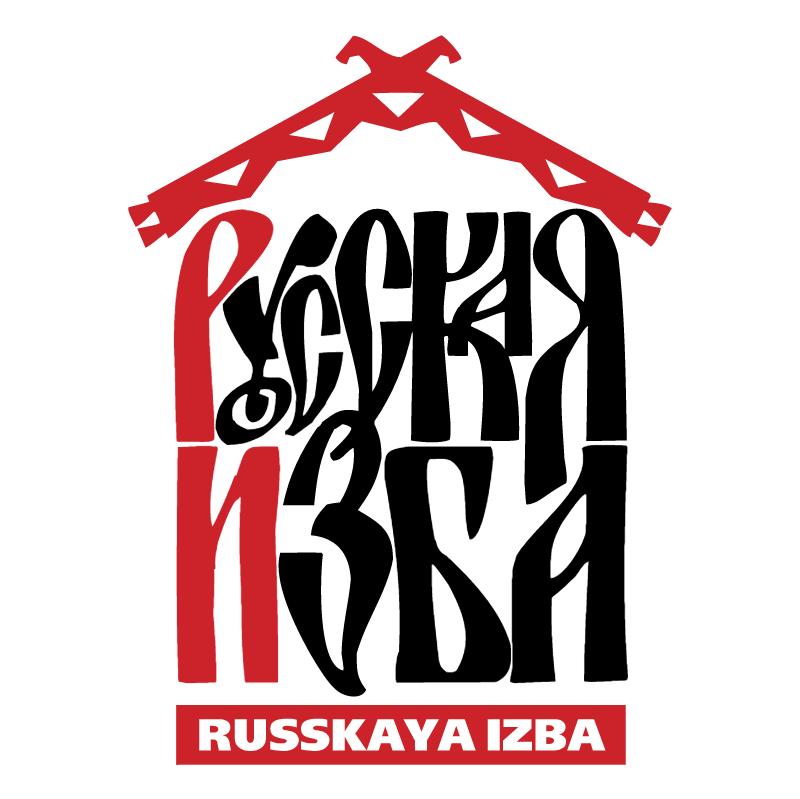 Russkaya izba vector