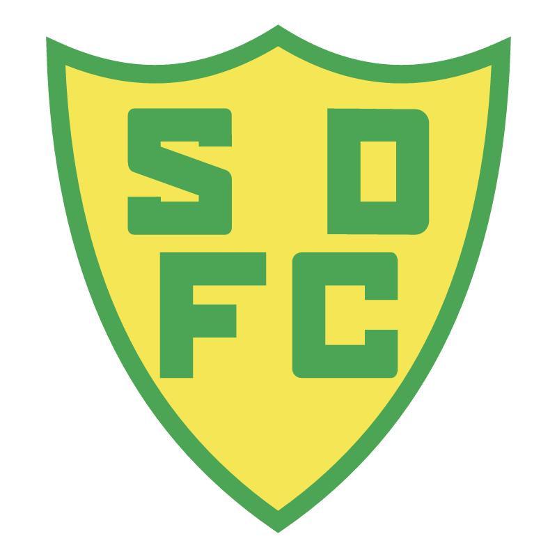 Santos Dumont Futebol Clube de Sao Leopoldo RS vector