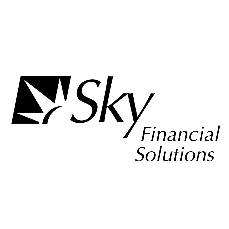 Sky Financial Solutions vector logo