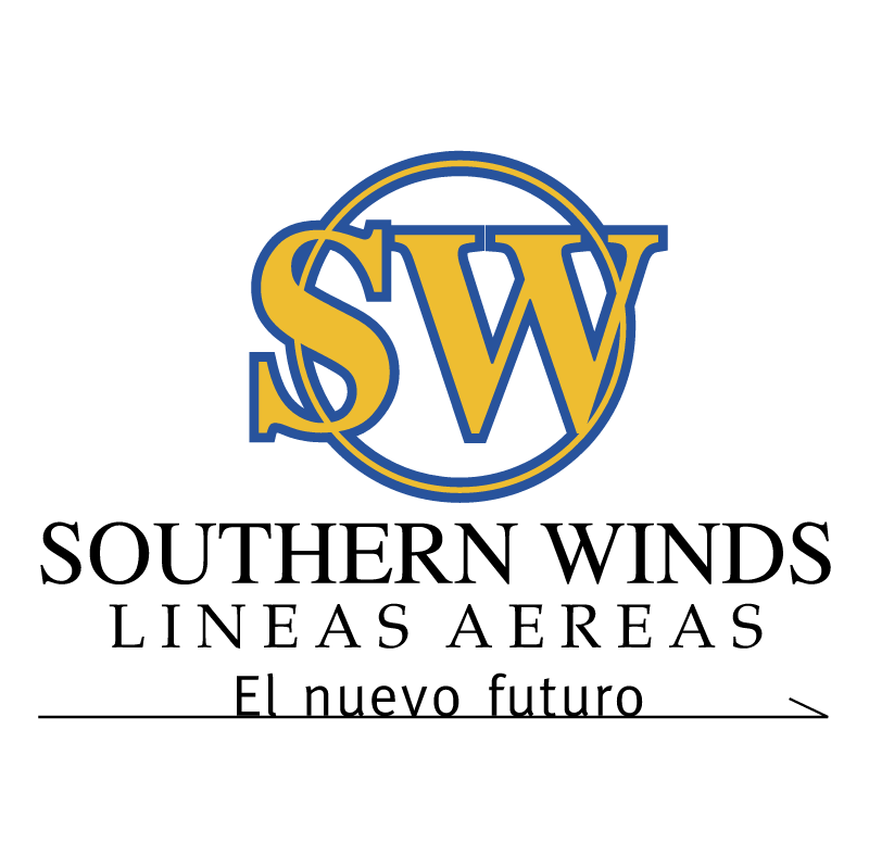 Southerm Winds vector
