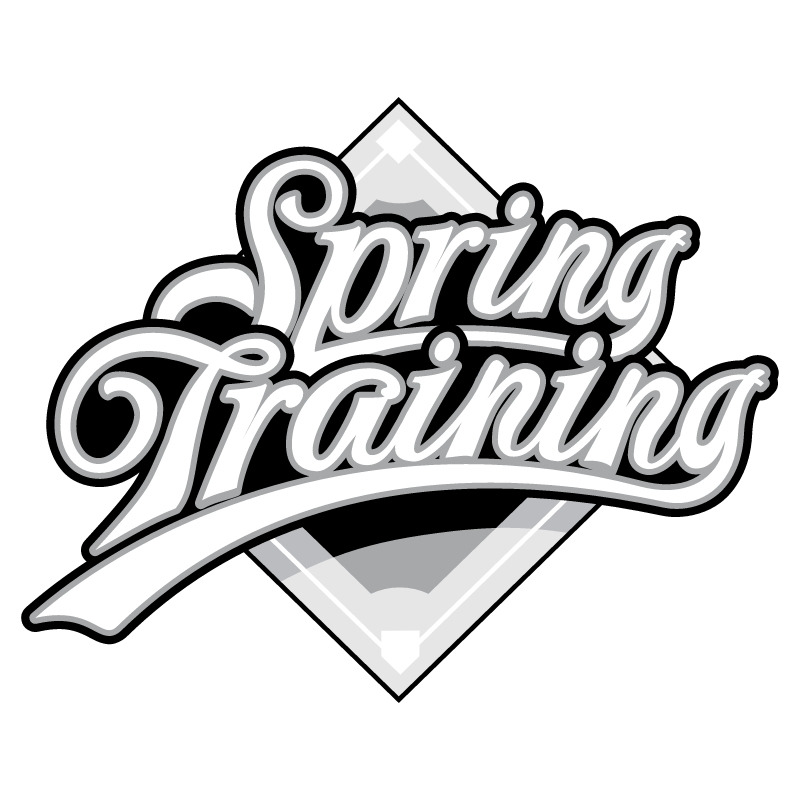 Spring Training vector