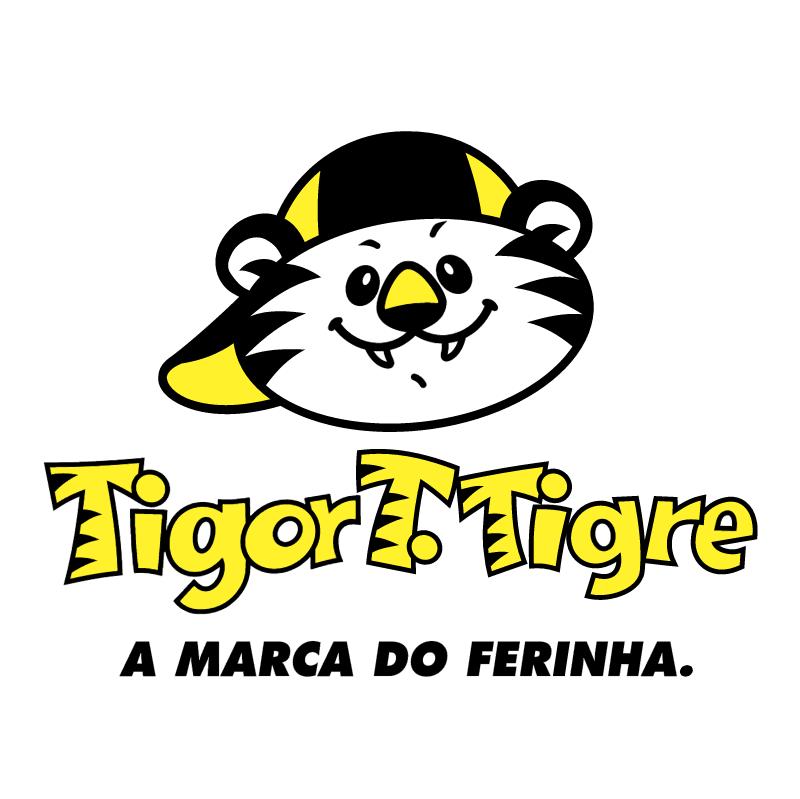 Tigor T Tigre vector