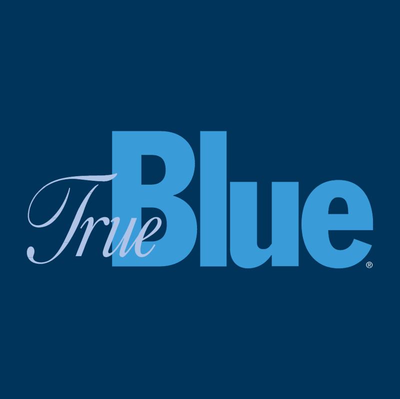 True Blue vector logo