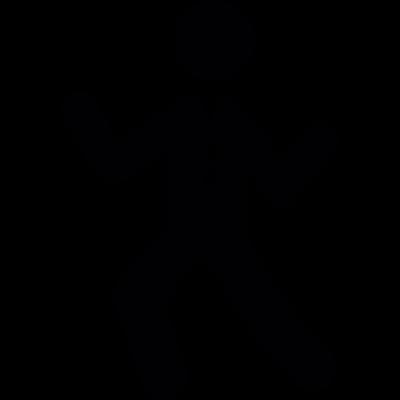 Dancing Man vector logo