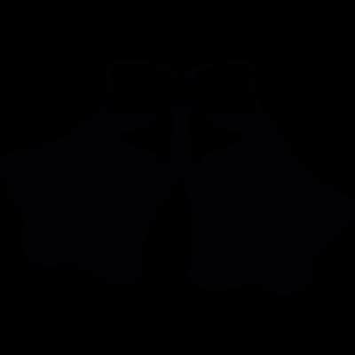 Couple of  bells vector logo