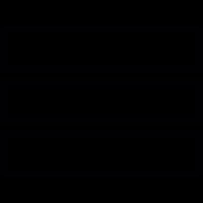 Menu symbol vector logo