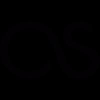 Last.fm logotype vector