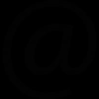 Arroba Symbol vector
