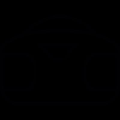 Music player, IOS 7 interface symbol vector logo