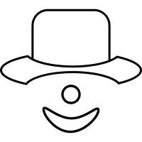 Joker, IOS 7 interface symbol vector