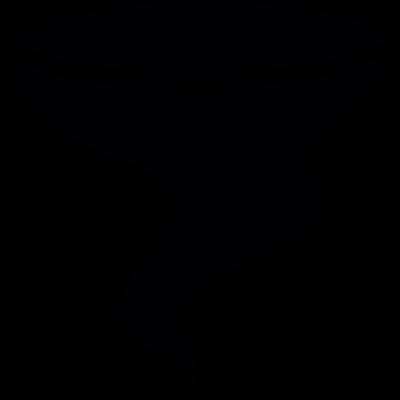 Filter black shape vector logo