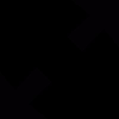 Resize arrows vector logo